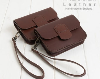Leather Belt Pouch, Leather Travel Pouch, Travel Wallet, Iphone 5 Case, Leather Purse, Bush craft