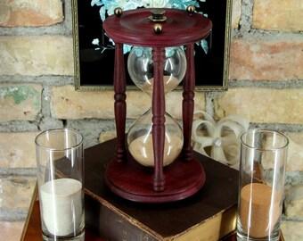 Hourglass, Wedding sand ceremony, Sand ceremony hourglass , Sand clock, Sand timer, Hourglasses, Vintage style interior detail