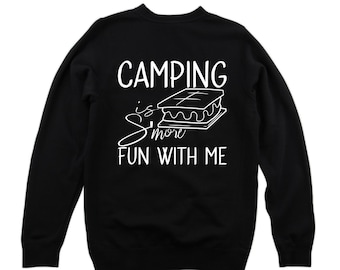 3762f14a5 camping s'more fun with me - funny camping shirt - funny tank top - graphic  tee - baby shower - gift for kids - baby clothes - kids clothes