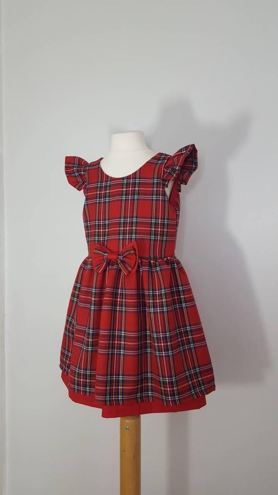 Royal Stewart Girls Tartan Dress