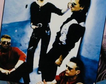 U2 Achtung Baby Japanese Poster