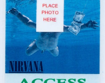 Nirvana Tour Laminate 1991