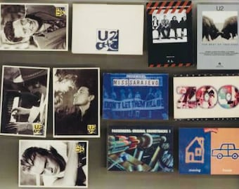 U2 Postcards x 10 Set