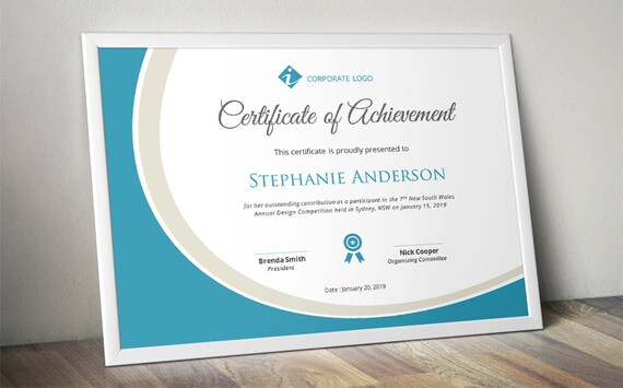 Best Business Certificate Templates For Word Images Gallery Free