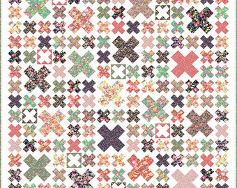 West End Quilt Pattern - by Miss Rosie's Quilt Company - Fat Quarter Friendly