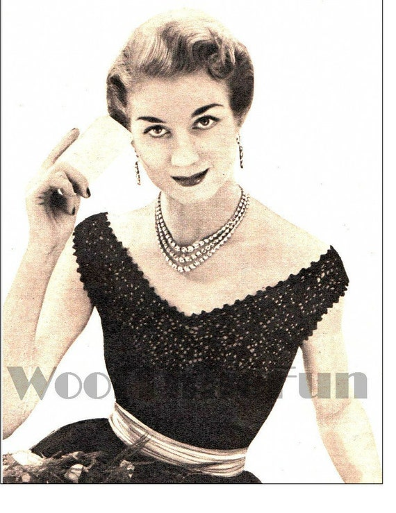 """35/""""-37/"""" Bust. Knitting Pattern Ladies 1950s Swing Coat Chequered Cuffs /& Edging"""