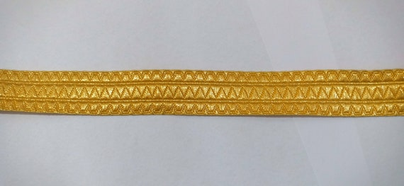 100 meter Military gold mylar braid 25mm lace trim B/&S trouser eepaulette uniform fancy army new uniform navy supplier manufacturere