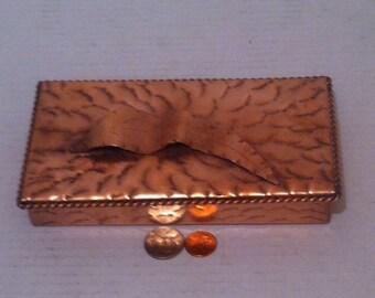 vintage metal dresser hospital furniture 5. Interesting Vintage Vintage Metal Copper Jewelry Box Stash Detailed Design Quality Solid  7 X 4 1 Shelf Display Dresser Decor And Hospital Furniture 5 C