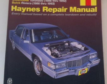 buick riviera etsy rh etsy com 1992 buick riviera owners manual pdf 1994 Buick Riviera