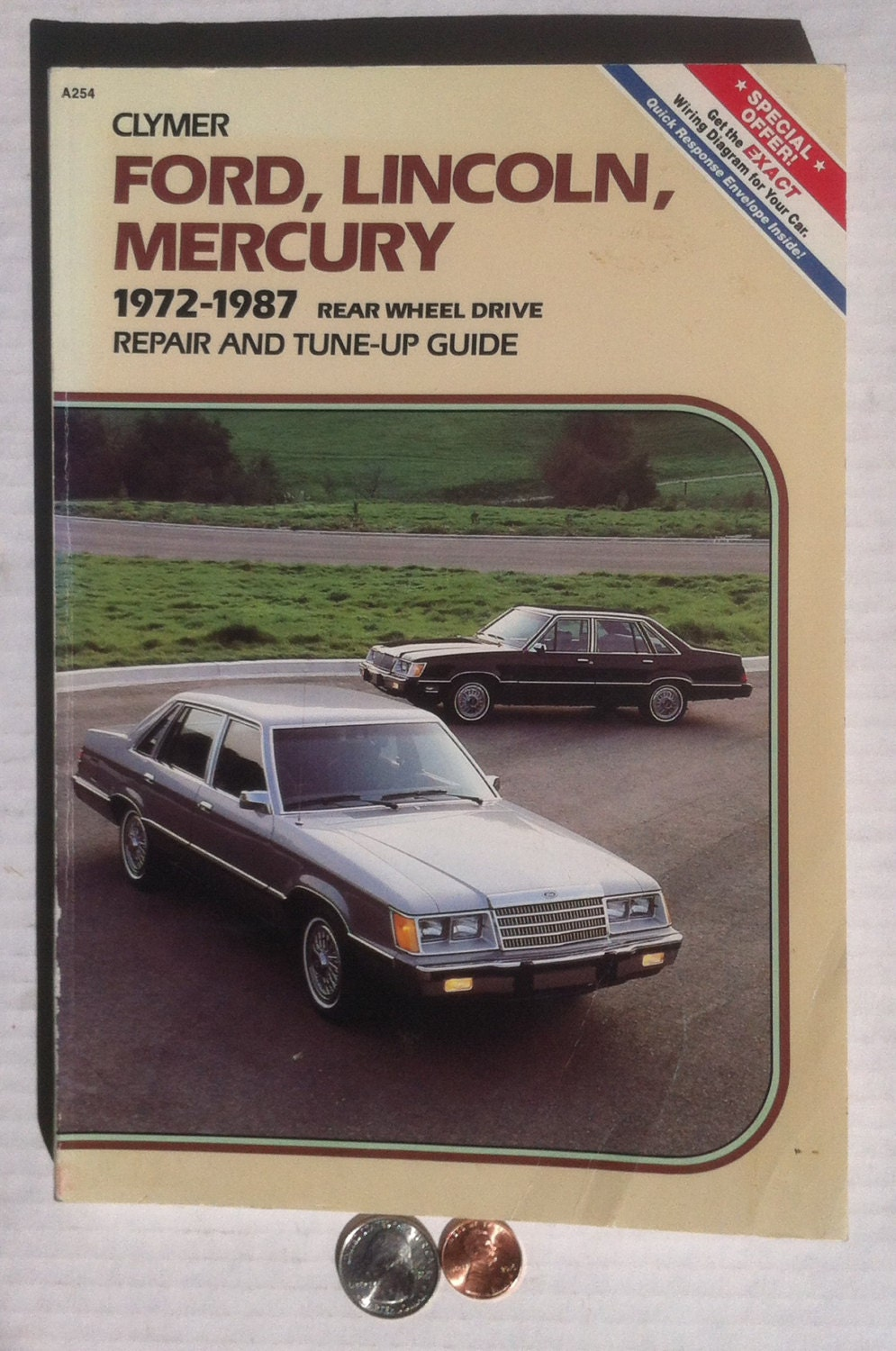 Vintage Repair Manual 1972 1987 Ford Lincoln Mercury Rear Etsy Rover 800 Wiring Diagram 50