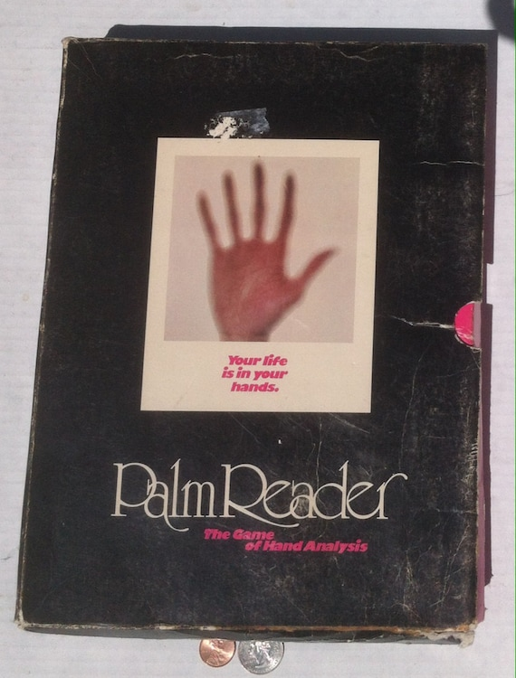Vintage 1972 Palm Reader, The Game of Hand Analysis, The Very Shape of your  Hand, Has Special Meaning, Find out What Here, Vintage Palm