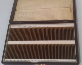 Vintage 100 Count Slide File Holding Box, Good Way to Organize Your  Best Slides, 10 x 6 x 2 1/2, Photography, Slide Show, Storage Box