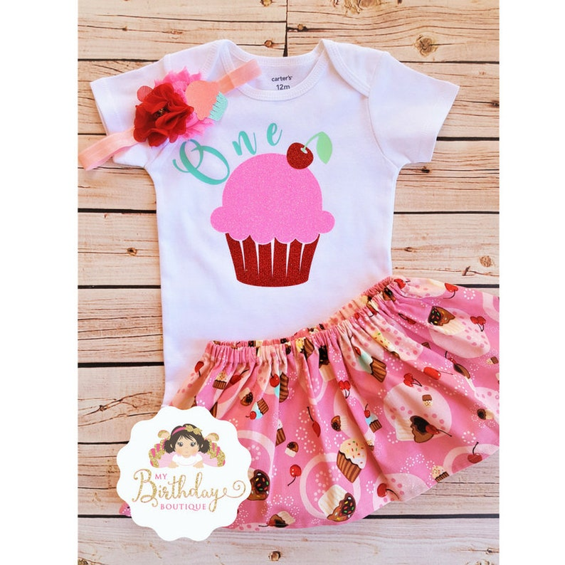Baby Girl first birthday outfit cupcake,1st Birthday Girl Outfit Cupcake,Cupcake birthday outfit,Cupcake birthday set,Cupcake birthday party