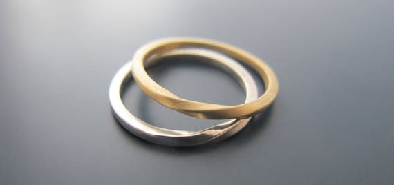 Twist Shout Wedding Ring Set Matching Wedding Rings Wedding Band Set Men And Women Matching Bands Gold Ring Sets For Him And Her