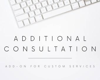 Custom Résumé Services Add-On: Additional Consultation