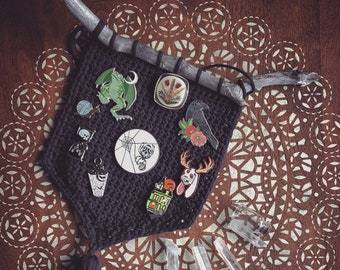 Crochet Pin Etsy