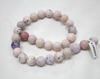 Pink Opalite (stones not strung)
