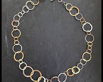 Encircled Vibe- Short Necklace