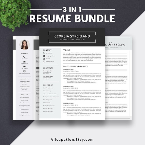2019 resume templates word modern cv template editable
