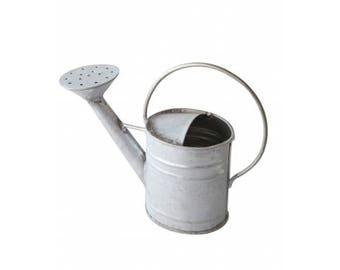 Decorative miniature metal watering can