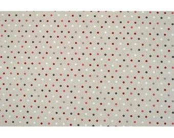 """Confetti"" width 150 coated cotton fabric"