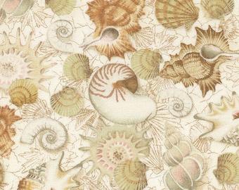 Fat quarter fabric quilt 45 x 55 cm shell