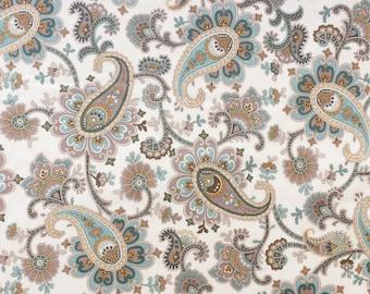 Fat quarter fabric quilt 45 x 55 cm Paisley