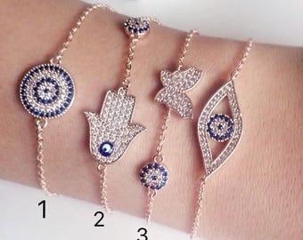433909d95e9f8 Evil eye bracelet