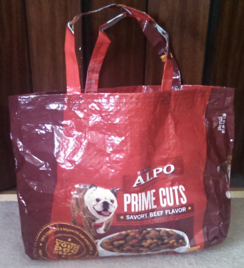 Upcycled Grocery BagTote