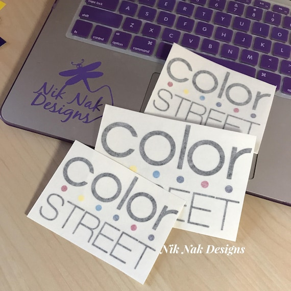Color Street Decal Color Street Logo | Etsy