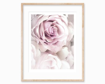 Rose Printable Art, Flower Printable, Rose Print, Rose wall art print, Rose Art Wall Decor, Pink Flowers Wall Art, Pink Roses, Rose Prints