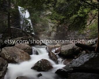 Gatlinburg, East Tennessee,  Gatlinburg Tennessee, Gatlinburg tn, gatlinburg art, gatlinburg souvenir, waterfall, tennessee mountains,