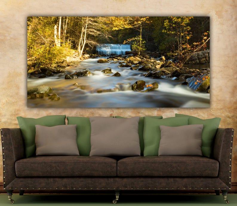 chattanooga canvas TN Chattanooga nature wall art canvas, Tennessee River Chattanooga wall art Chattanooga art Tennessee river