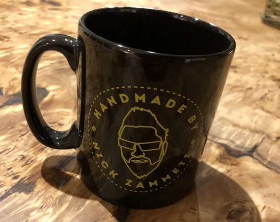 Handmade By Nick Zammeti Mug (Black)