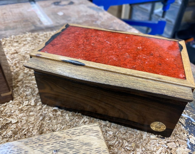 The Orange Bocote Flake Box