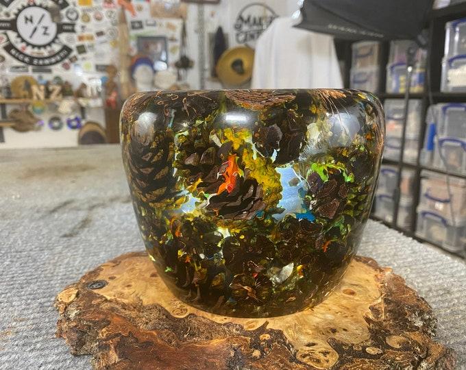Pine Cone Paint Chaos Pot