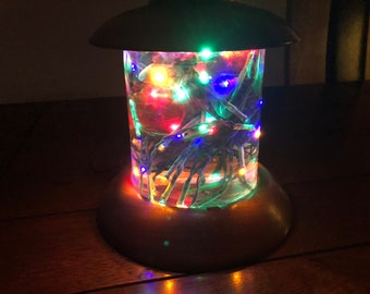 Festive LED Light Show In Resin