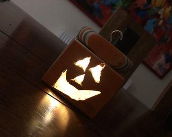 Skateboard Halloween Pot