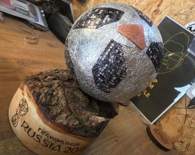 Featured listing image: World Cup Football Made From Aluminum Foil