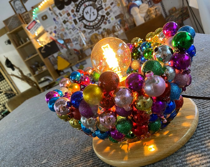 The Baubles Christmas Lamp