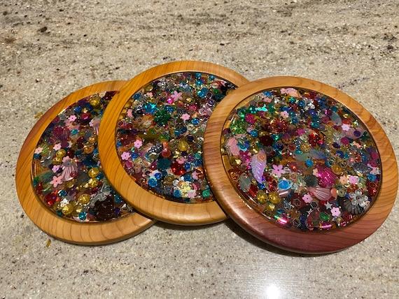 The Sequin Coaster Set