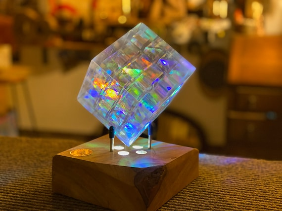 The Tesseract Borg Cube  #018