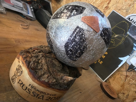 World Cup Football Made From Aluminum Foil