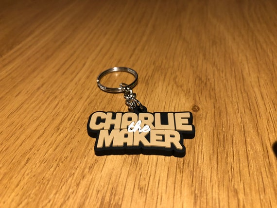 Charlie The Maker Key Ring
