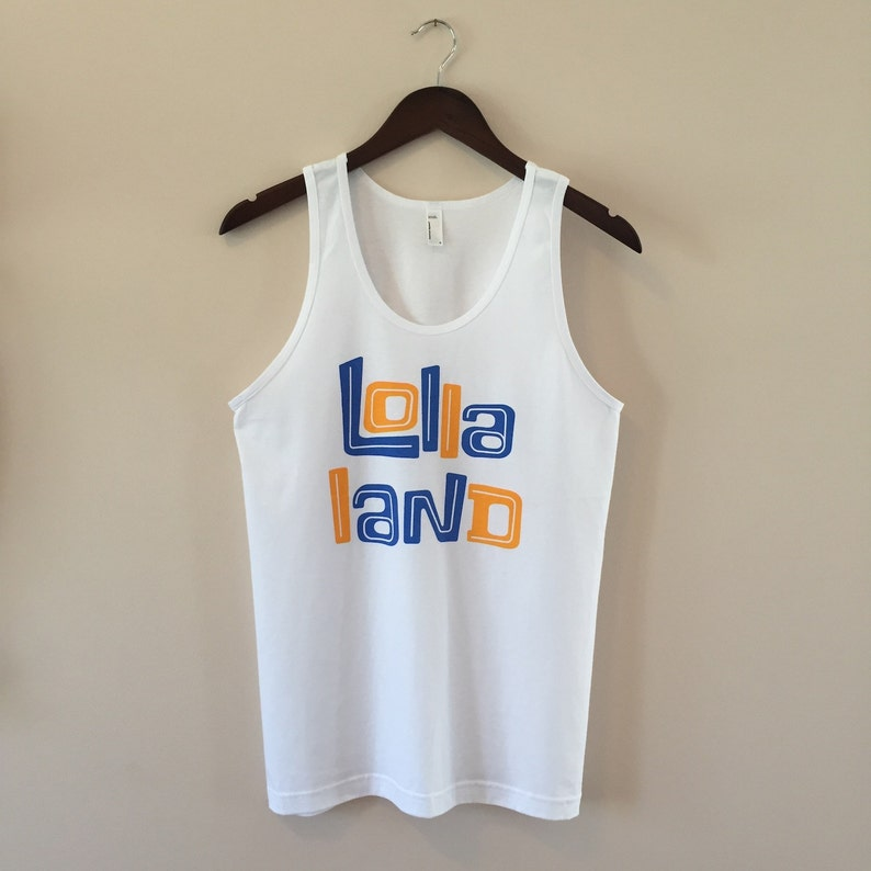 Lollapalooza 'Lolla Land' tank top  Free Shipping image 0