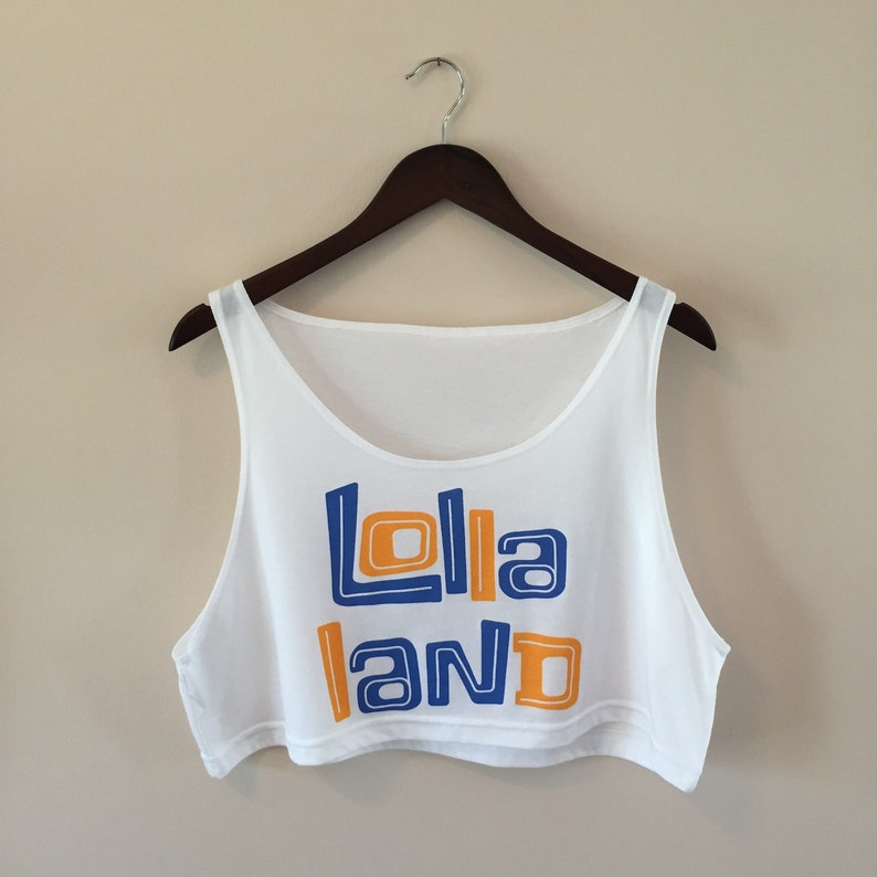 Lollapalooza 'Lolla Land' crop top  Free Shipping image 0