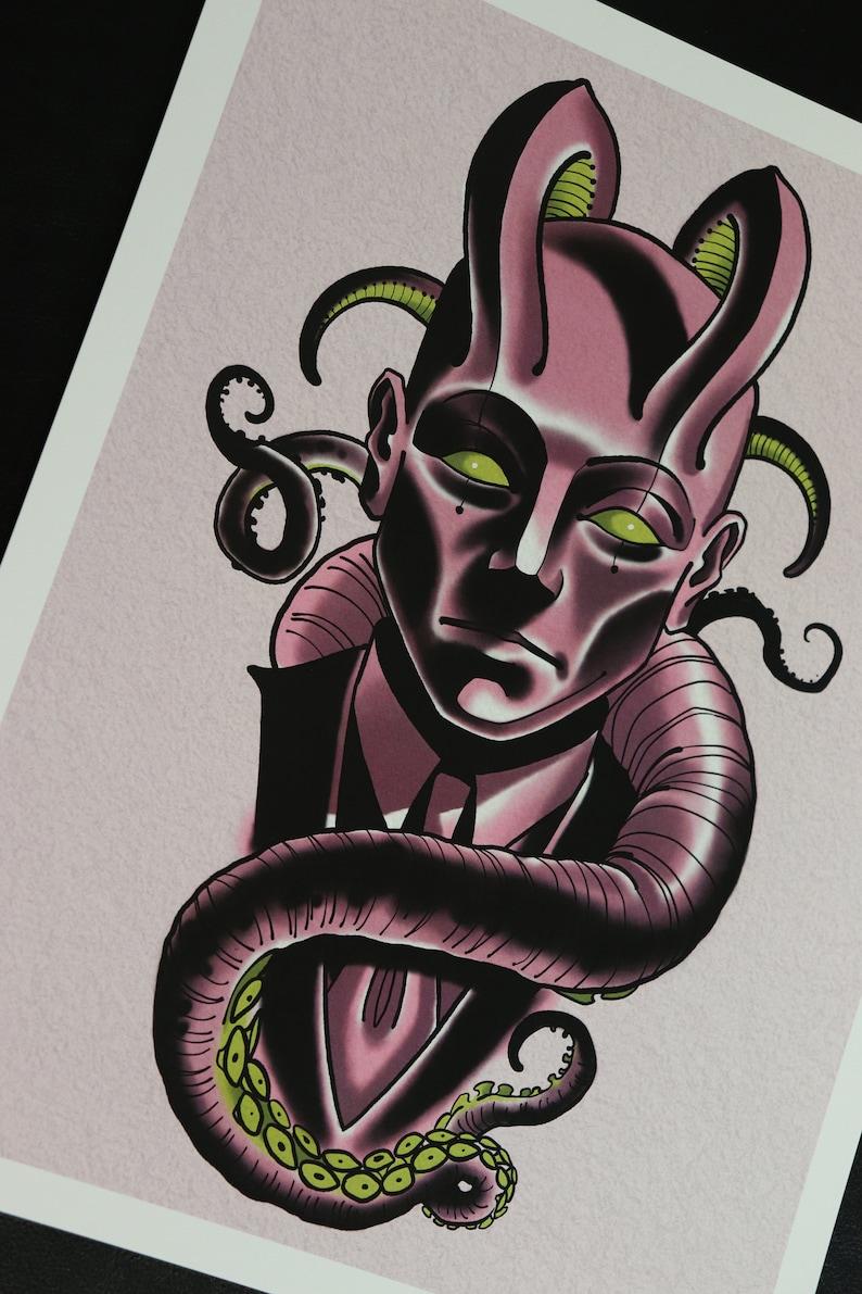 PRINT-Purple Demon image 0