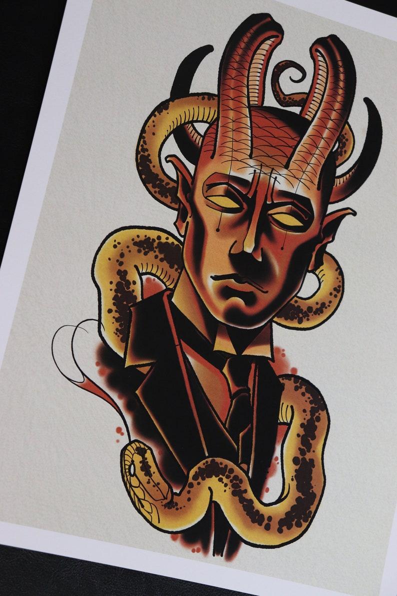 PRINT-Fire Demon image 0