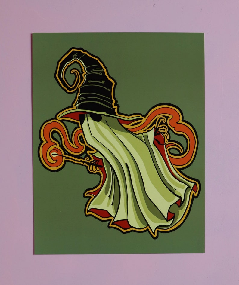 PRINT-Ghost Wizard 2 image 0