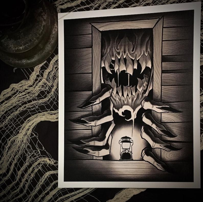 PRINT-Creep in the Cabin image 0